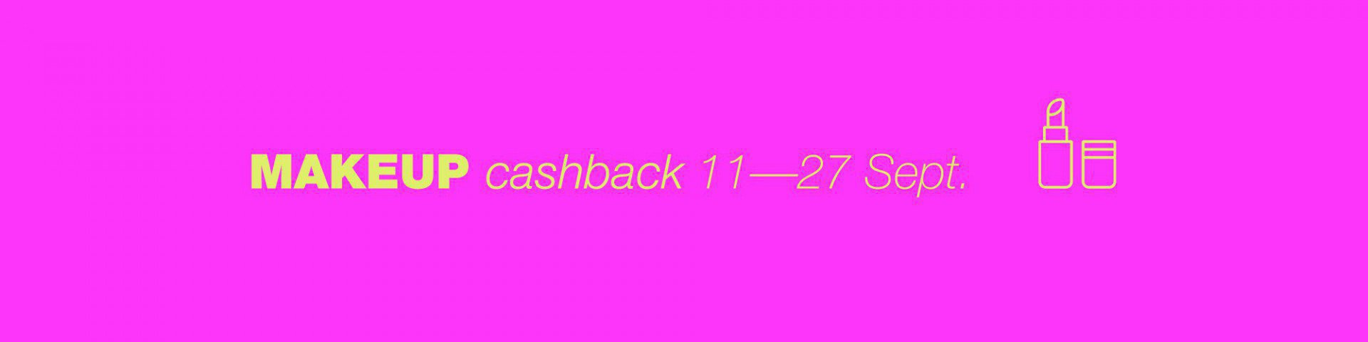 MakeUp- CashBack