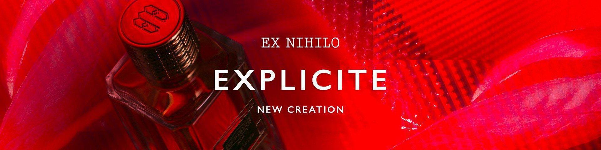 Новинка от EX NIHILO Explicite