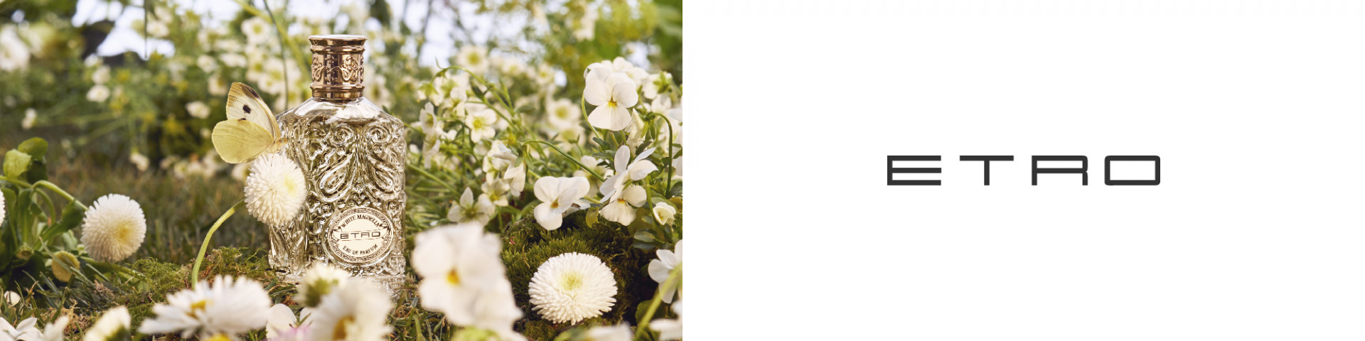 NEW Etro White Magnolia
