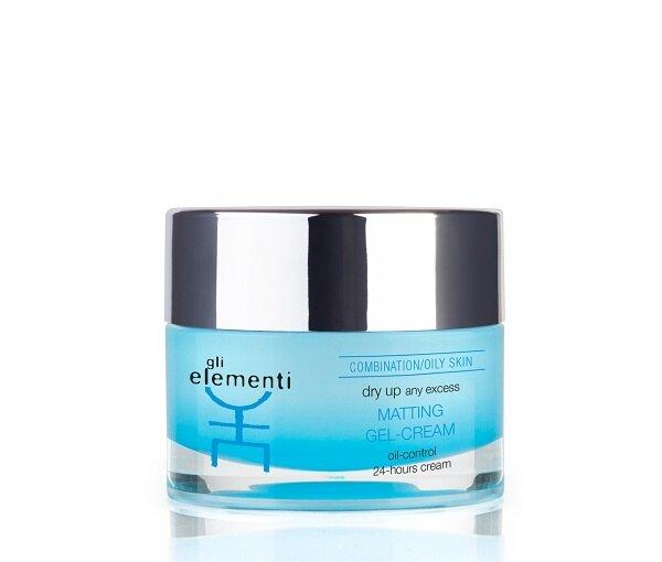 Gli Elementi - Матирующий крем-гель Matting Gel-Cream 01035GE