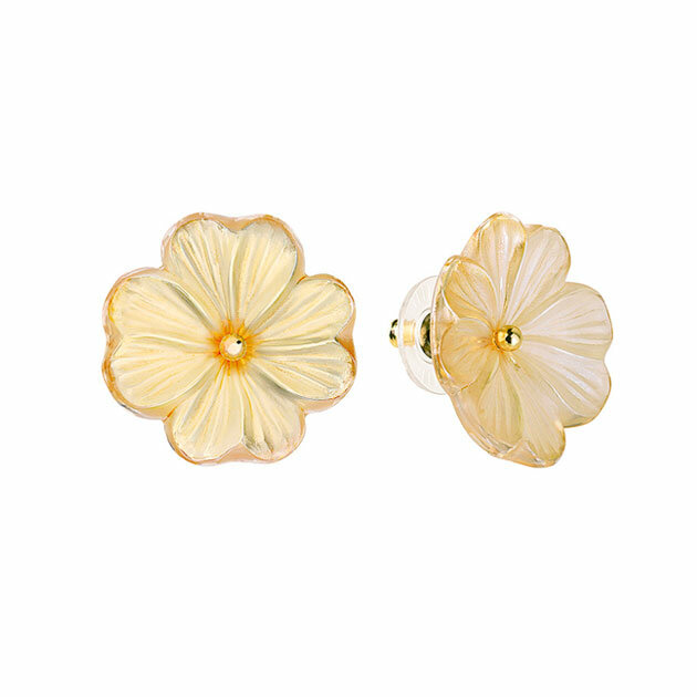 Lalique - Серьги Pensée earrings 10390300L