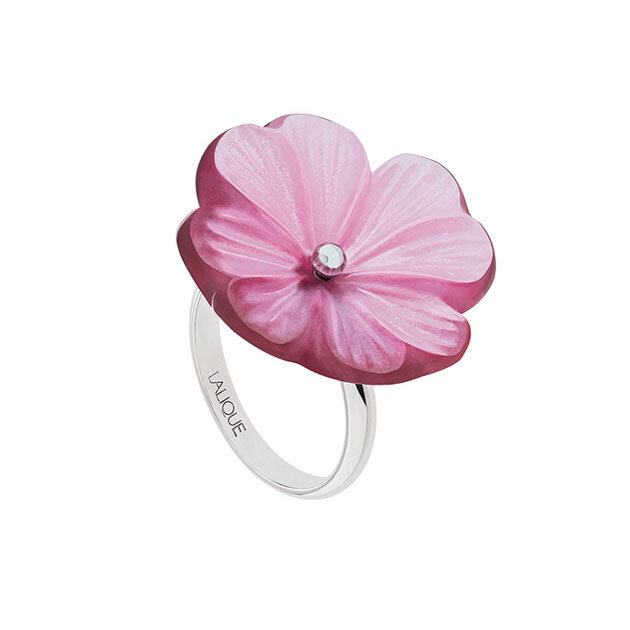 Lalique - Кольцо Pensee ring 10385500L