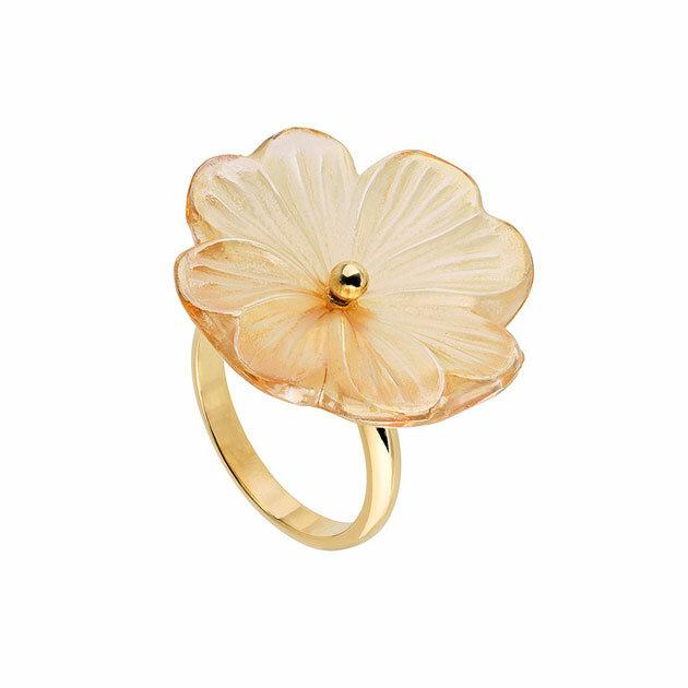 Lalique - Кольцо Pensee ring 10390000L