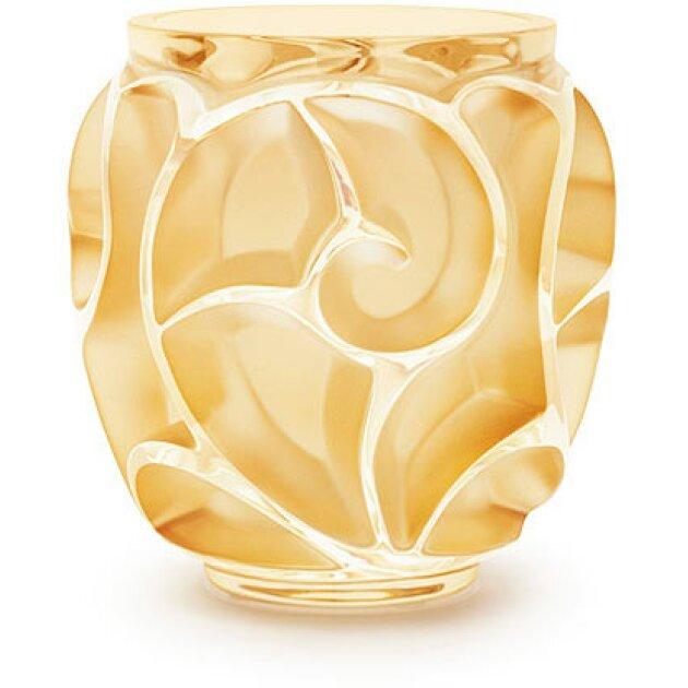Lalique - Ваза Tourbillons Vase small gold 10466100l