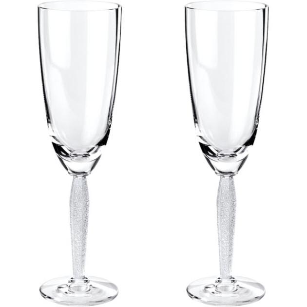 Lalique - Бокал для шампанского Coffret de 2 Flutes a Champagne 1733800L