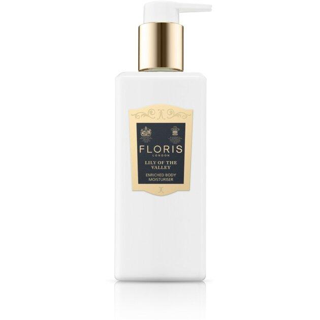 FLORIS LONDON - Крем для тела Lily of the Valley Enriched Body Moisturiser 05212F