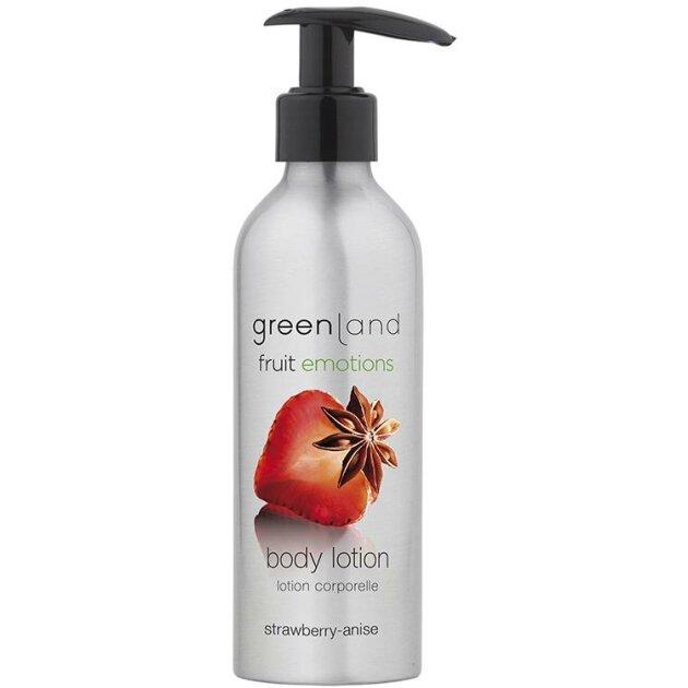 Greenland - Лосьон для тела Body lotion strawberry-anise FE0187