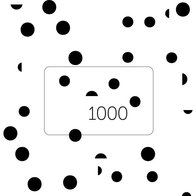 Aromateque - Подарочный сертификат Сертификат на 1000 гривен C1000