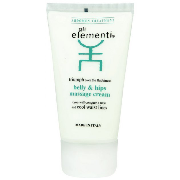 Belly and hips massage cream