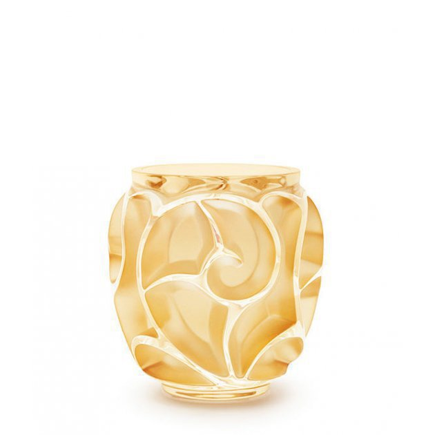 TOURBILLONS VASE small gold