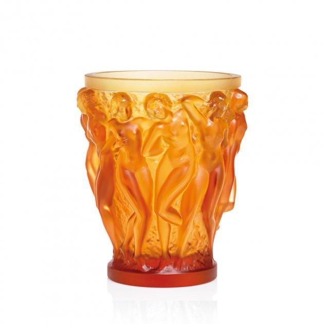Lalique - Ваза Bacchantes Amber 1220020L