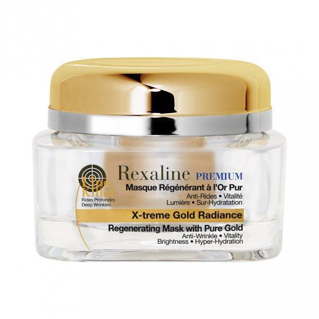 PREMIUM LINE-KILLER X-Treme Gold Radiance Mask