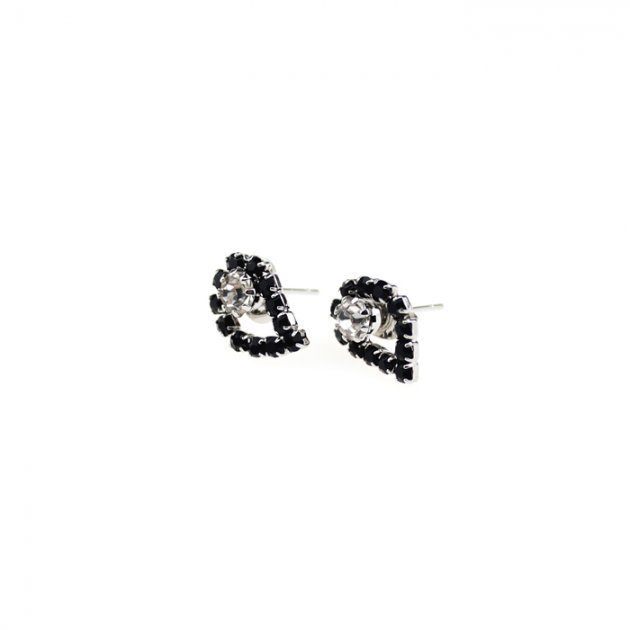 Earrings with Strass Paislay