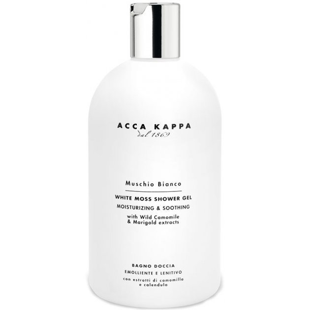 White Moss Bath and Shower Gel