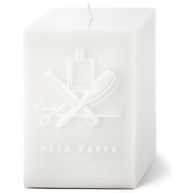 White Moss Candle