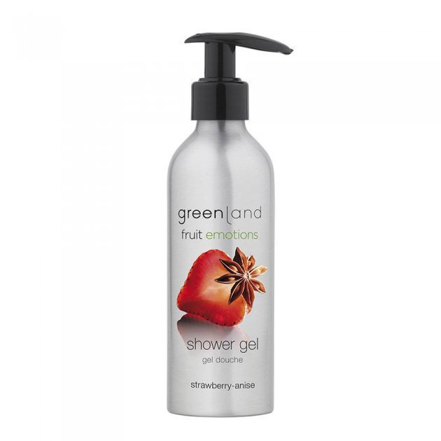 Shower gel with pump strawberry-anise