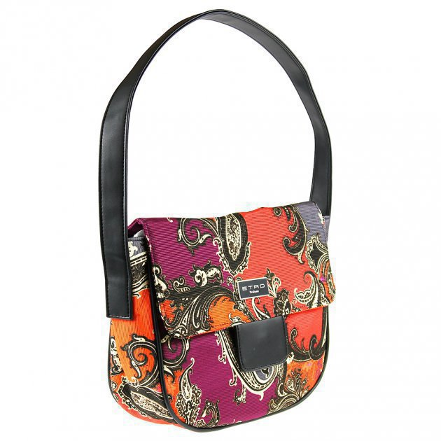 Rounded Bag with Strap