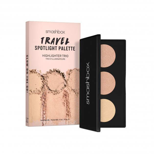 Travel Spotlight Palette Highlighter Trio