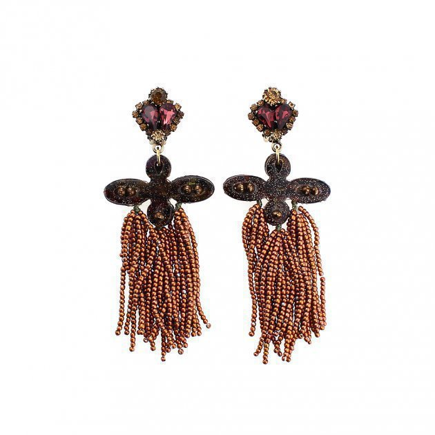 Beads Tassel Earring