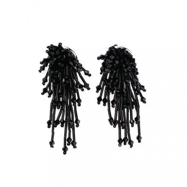 Earring Cascade of Beads
