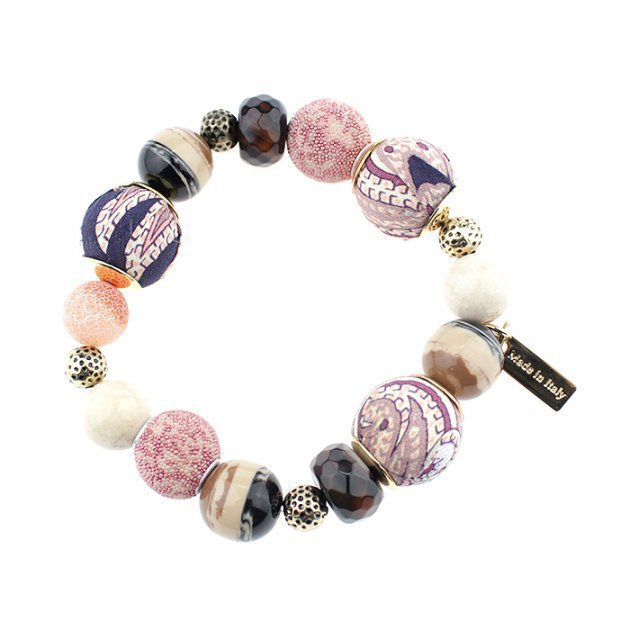 Bracelet Boules and Pearls