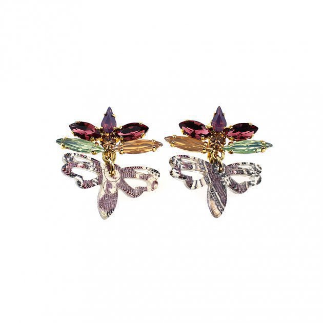 Earring Dragonfly