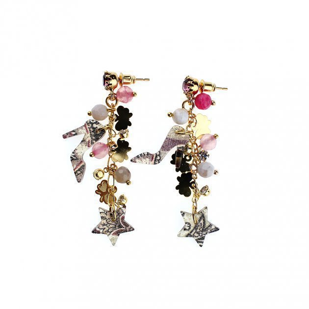 Earring With Charms