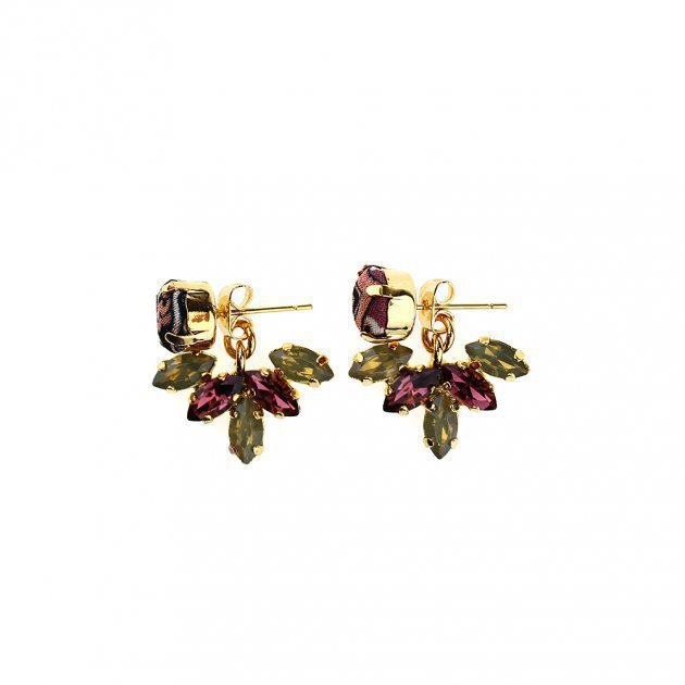 EARRING SMALL STRASS