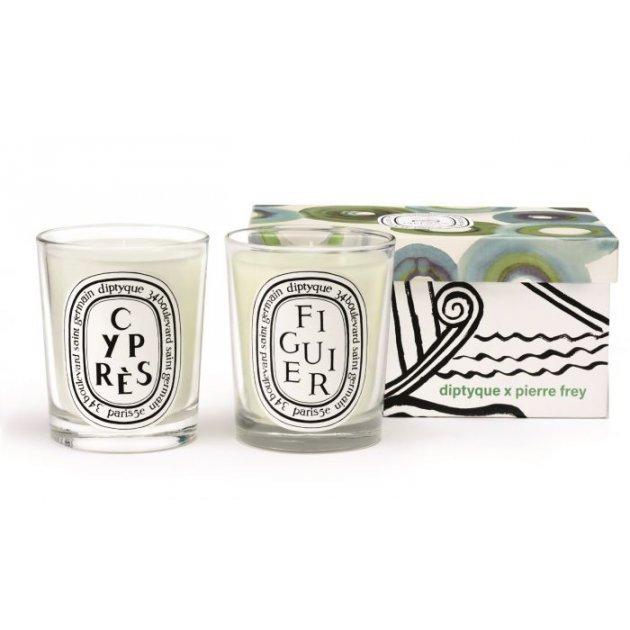 Figuier & Cyprès duo candle set