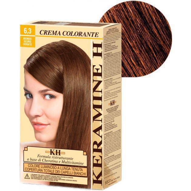 Crema Colorante тон 6.3 темно-золотистый блонд