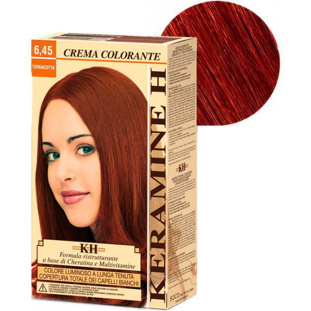 Crema Colorante тон 6.45 терракота