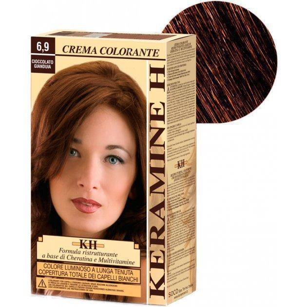 Crema Colorante тон 6.9 шоколад Джандуйа