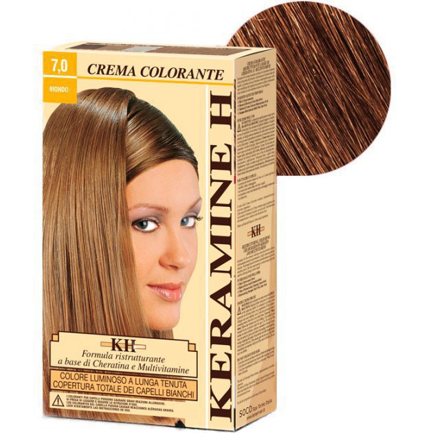 Crema Colorante тон 7.0 блонд
