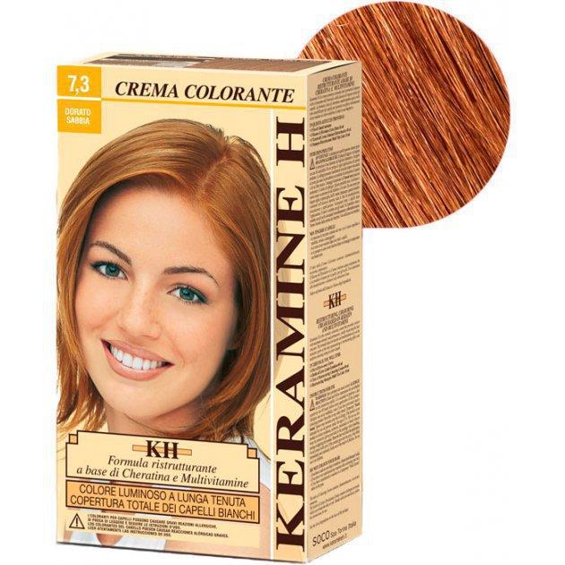 Crema Colorante тон 7.3 золотой песок