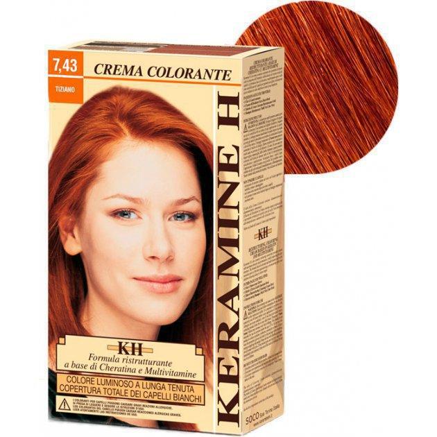 Crema Colorante тон 7.43 тициан