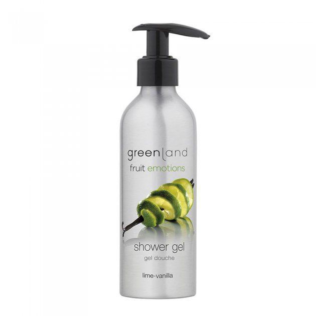 Shower gel with pump lime-vanilla