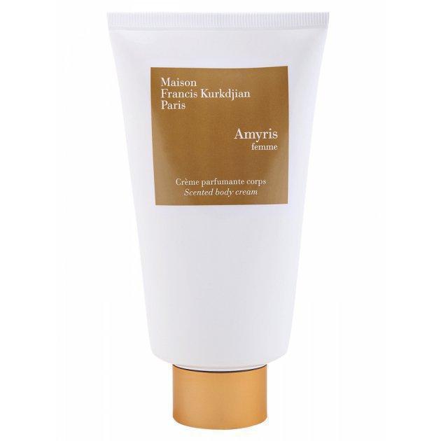 Amyris scented body cream