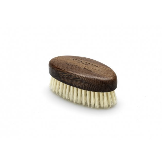 Beard Brush in Wenge Wood with Soft Bristles