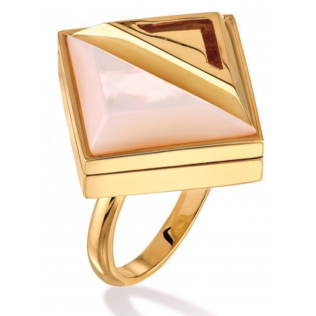Moonlight ring gold
