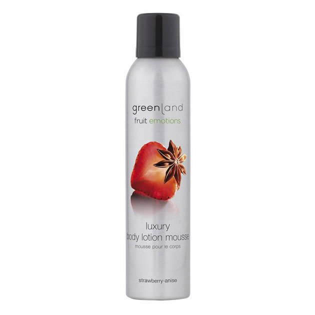 Body lotion mousse strawberry-anise