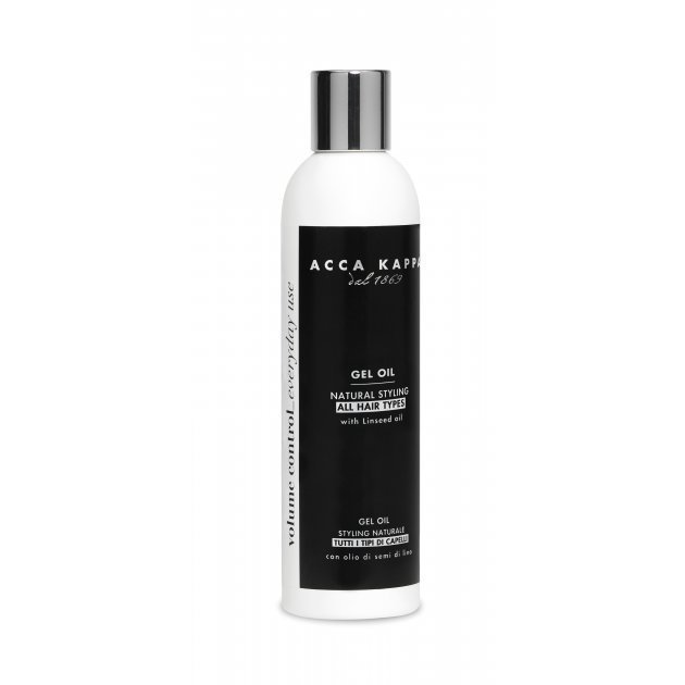 White Moss Gel Oil Natural Styling