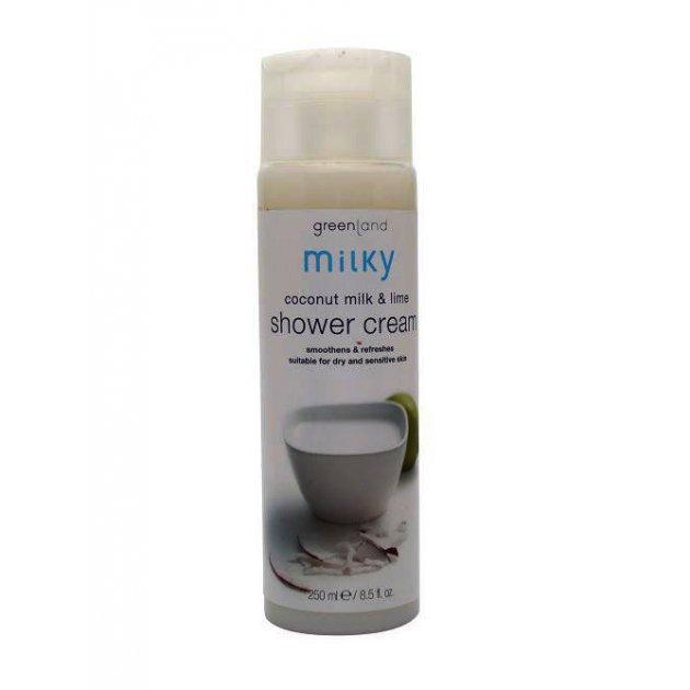 Shower cream coconut milk-lime