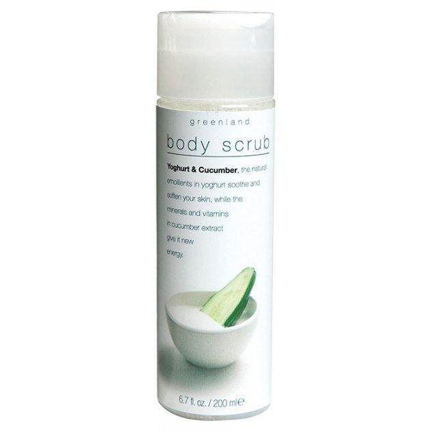 Body Scrub Yoghurt & Cucumber