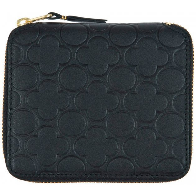 Classic Leather Embossed B Black