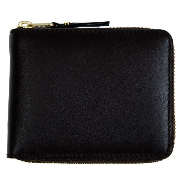 Classic leather line Wallet black