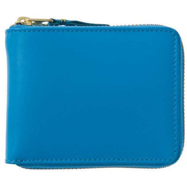 Classic leather line Wallet blue