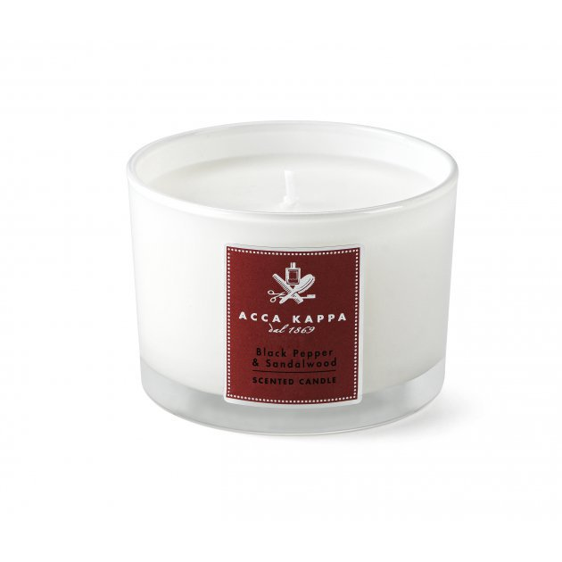 Black Pepper & Sandalwood Scented candle