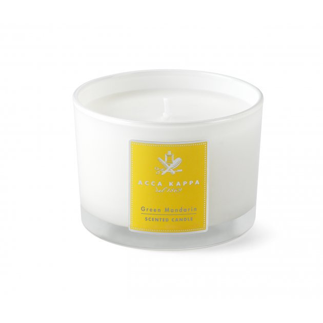 Green Mandarin Scented Candle