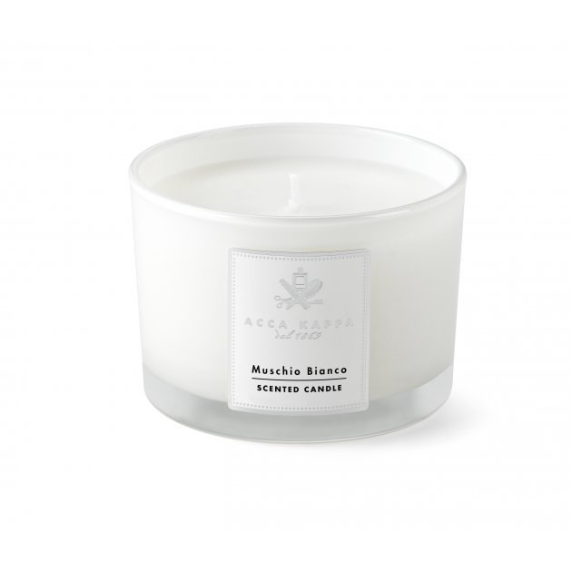 White Moss Scented Candle