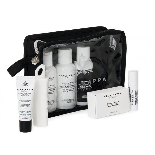 White Moss Travel Set